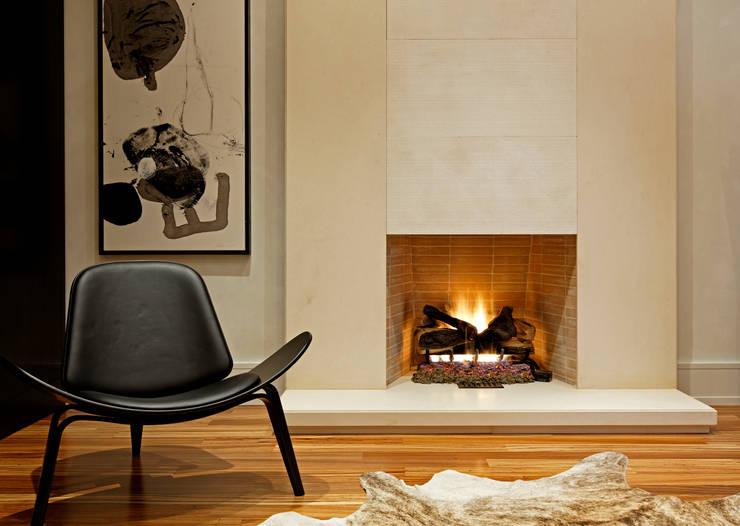 Sitting Room:  Living room by Douglas Design Studio