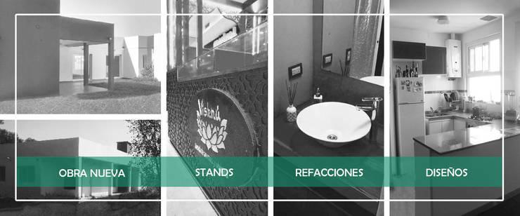 Proyectos: Casas de estilo  por Estudio Morphe,