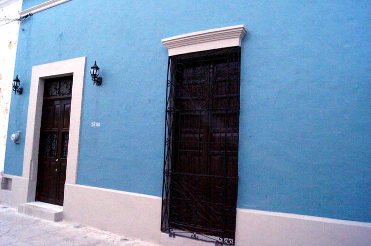 Casas de estilo  por Quinto Distrito Arquitectura, Ecléctico