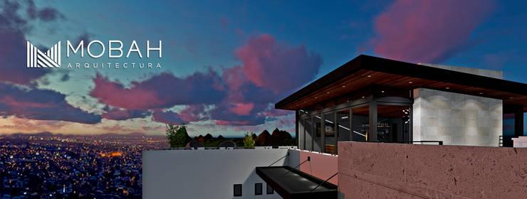 ROOF GARDEN Santa Lucía: Terrazas de estilo  por MOBAH Arquitectura, Moderno