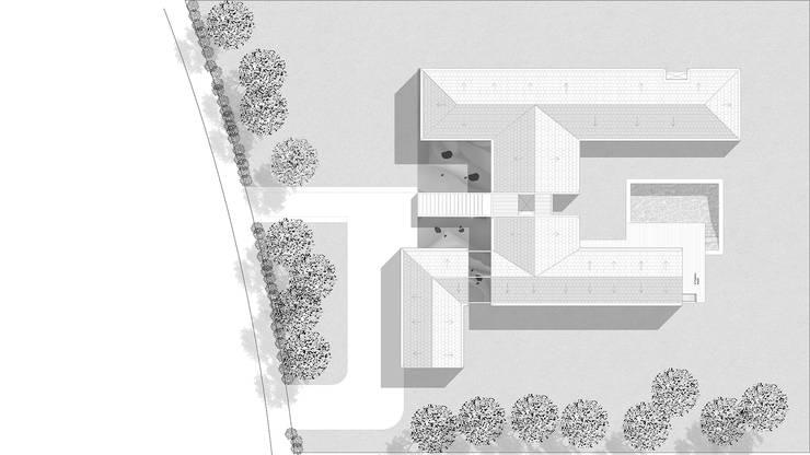 CASA ST: Casas de estilo  por NEF Arq.
