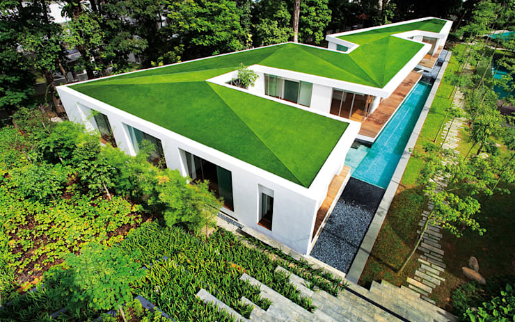 Zig Zag House:  Houses by MinistryofDesign