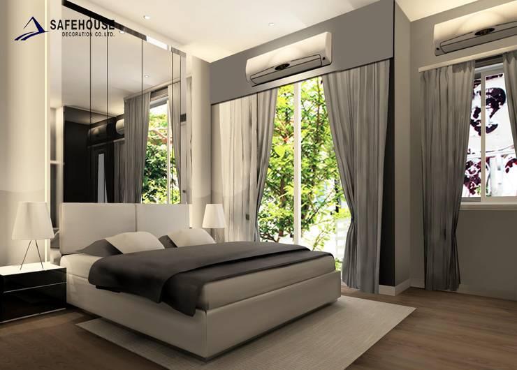 บ้านกลางเมือง( แบบบ้านรุ่นใหม่ของบ้านกลางเมือง3ชั้น):   by safehouse decoration