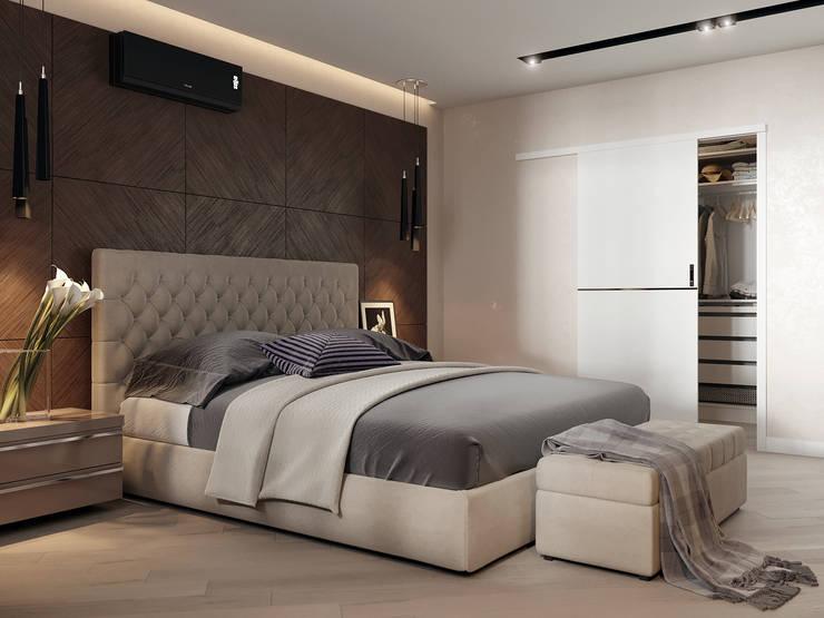 minimalistic Bedroom by Z E T W I X
