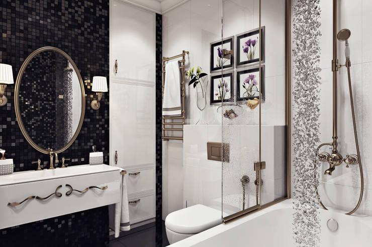 modern Bathroom by Дарья Баранович Дизайн Интерьера