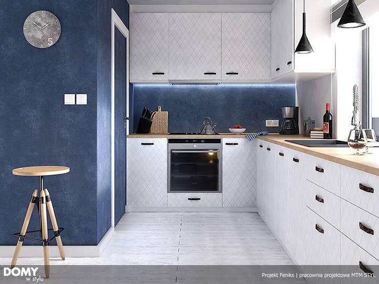 Cocinas de estilo  por Biuro Projektów MTM Styl - domywstylu.pl