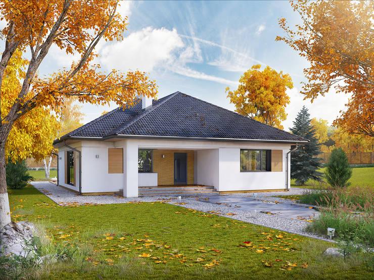 Rumah by Biuro Projektów MTM Styl - domywstylu.pl
