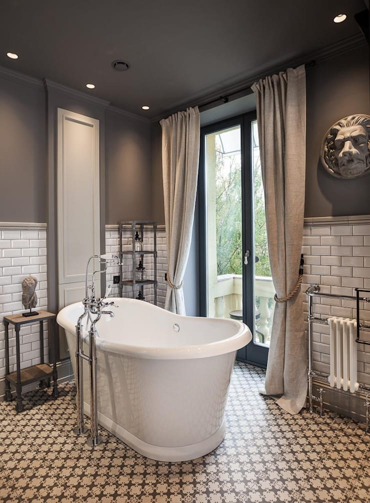 Bathroom Kamar Mandi Gaya Industrial Oleh Hampstead Design Hub Industrial