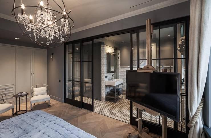 Bedroom Kamar Tidur Gaya Industrial Oleh Hampstead Design Hub Industrial