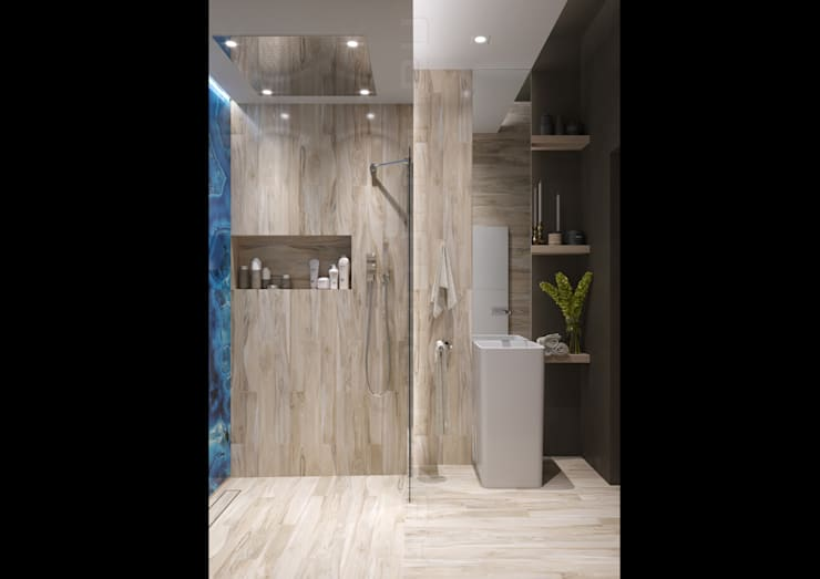 Bathroom by Astar project, Modern