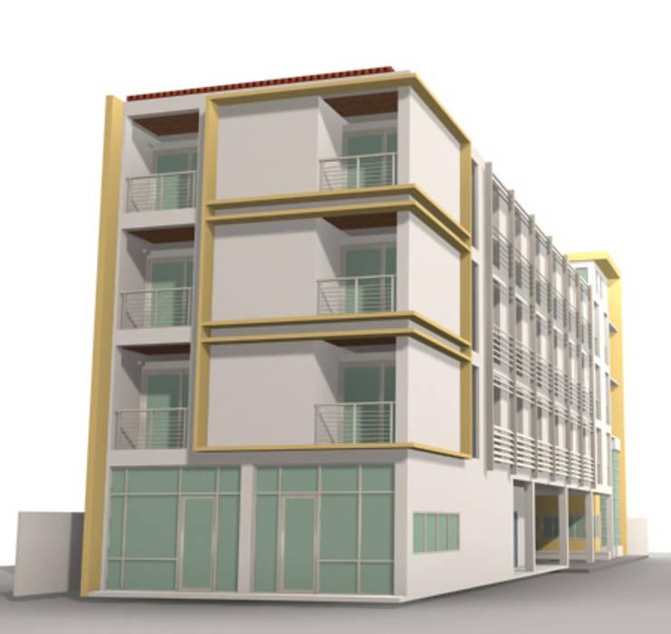 รวมผลงาน:  บ้านและที่อยู่อาศัย by SDofA Architect