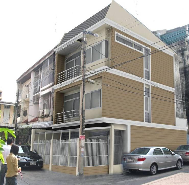 Townhouse:  บ้านและที่อยู่อาศัย by SDofA Architect