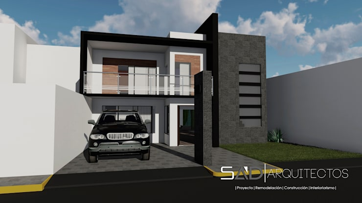 Casas de estilo  por Studio Arch'D Arquitectos