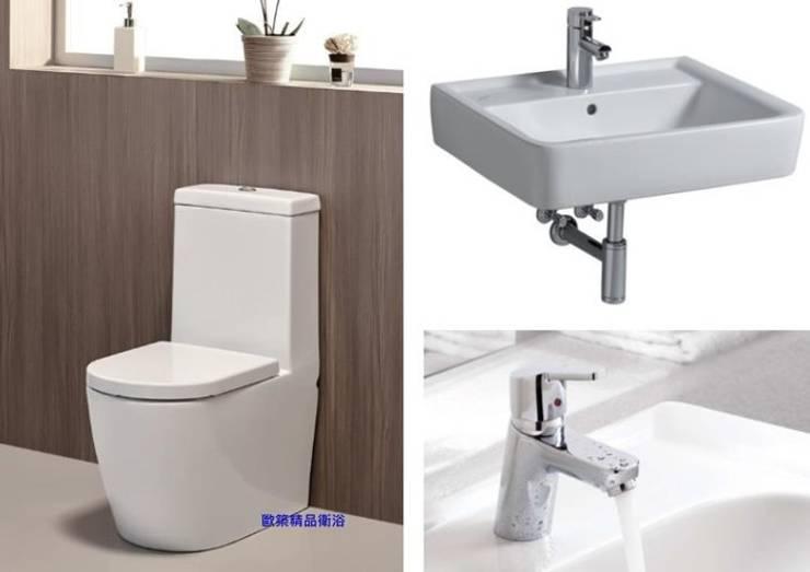 KERAMAG《德國》✰特價組合**馬桶/面盆/面盆龍頭**:  衛浴 by 築辰精品衛浴