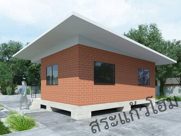 บ้านอิฐประสาน:   by สระแก้วโฮม