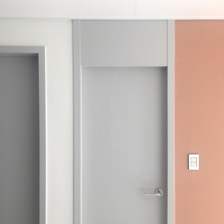 신도림 태영 아파트 신혼부부 30평 인테리어: 마당디자인 / MADANGDESIGN의  거실,