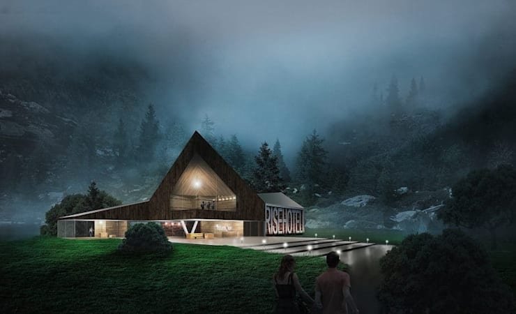 3D Architectural Visualization Rise hotel Germany 3D  :  Houses by CGstandard, Tropical