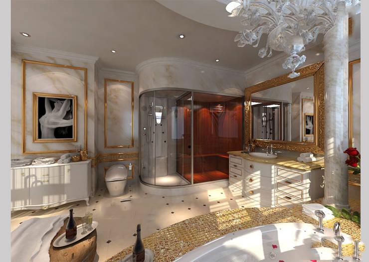 Ванные комнаты в . Автор – CÔNG TY CP XÂY DỰNG VÀ KIẾN TRÚC ĐẤT VIỆT,