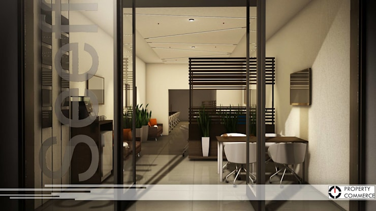 Commercial Spaces by Property Commerce Architects, Modern