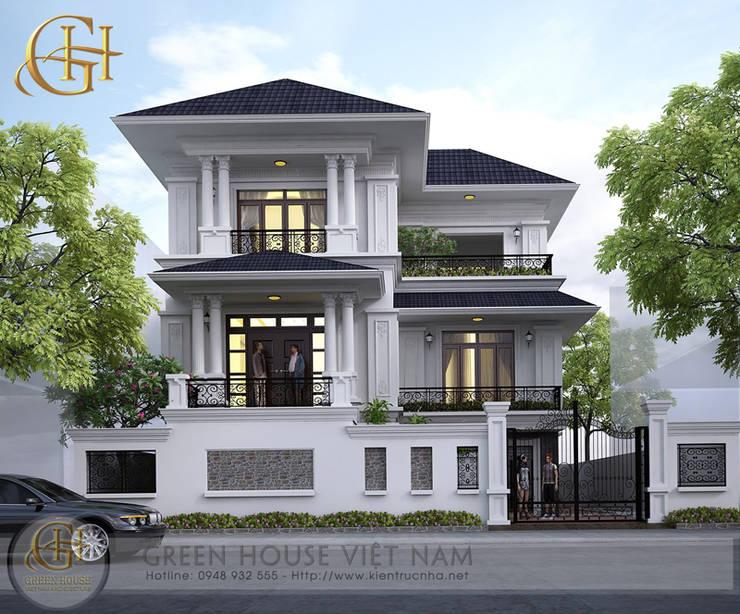 Kiến trúc sư:   by Công ty CP Kiến trúc & Xây dựng GreenHouse Việt Nam