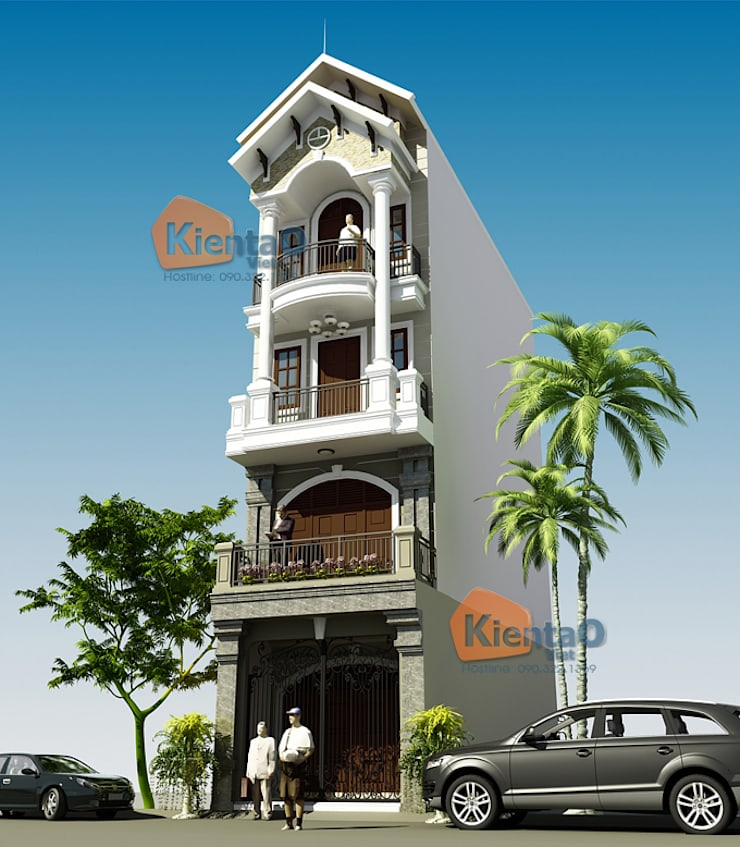 Nha ong kieu phap 5 tang:   by Công ty cổ phần XD & TM KIẾN TẠO VIỆT