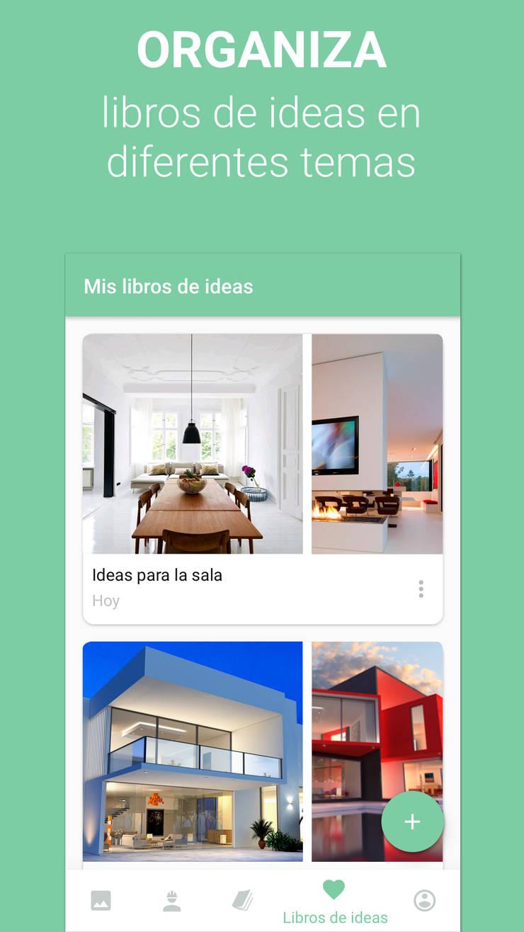 App Homify Peru: Casas de estilo  por Nicolas.Bello_Homify,