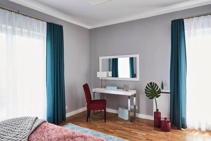 غرفة نوم تنفيذ Mhomestudio