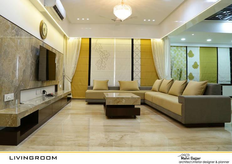 Living Room:  Living room by malvigajjar