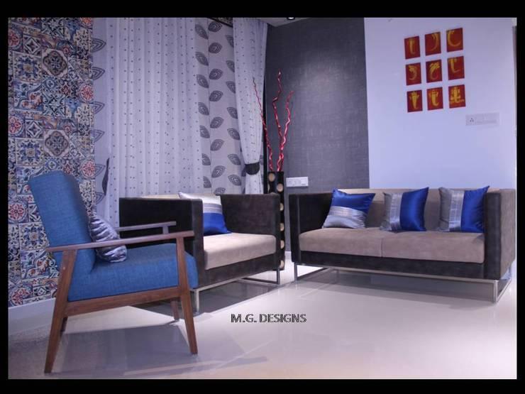 Drawing room:  Living room by malvigajjar