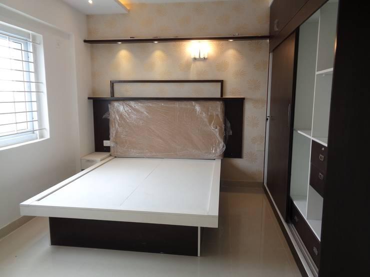 Furniture Bedroom Sets:  Bedroom by Scale Inch Pvt. Ltd.