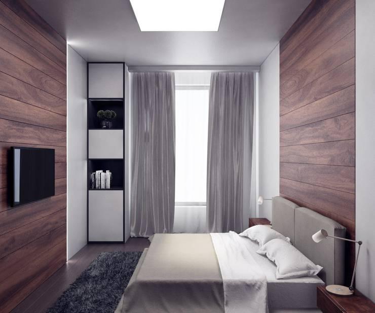modern Bedroom by Anastasia Yakovleva design studio