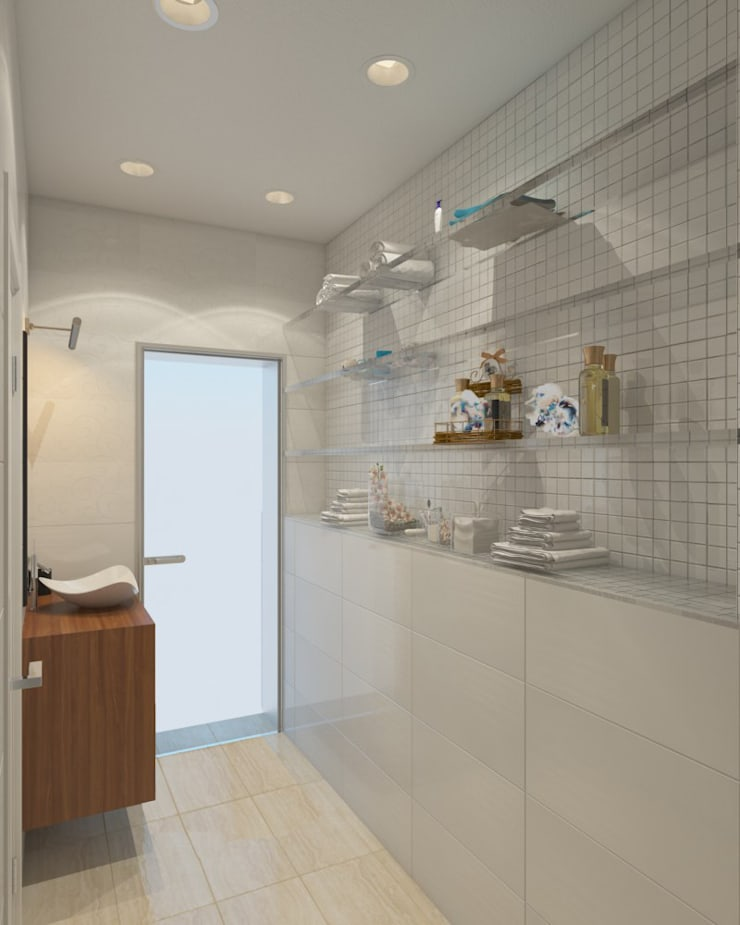 Bathroom by Anastasia Yakovleva design studio