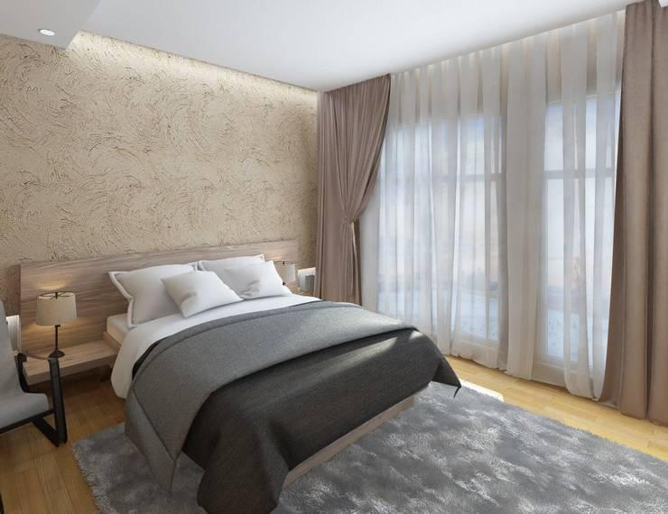 Bedroom by Anastasia Yakovleva design studio