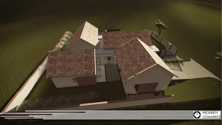 ​Prototype design 02:  Houses by Property Commerce Architects, Modern