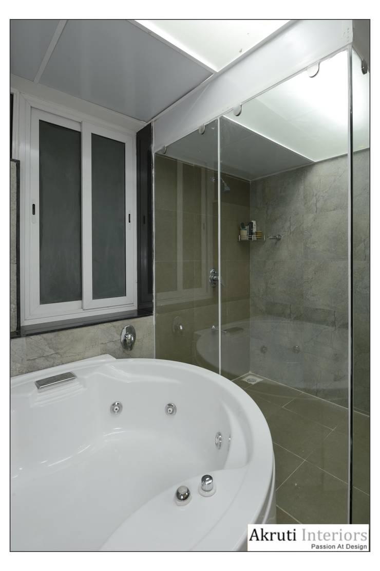 Master Bath:  Bathroom by Akruti Interiors Pune,