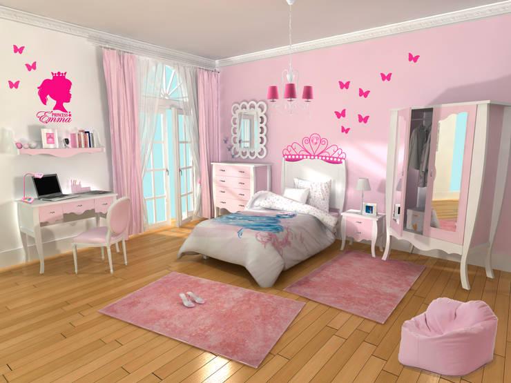 Dormitorios para niñas: ideas de decoración