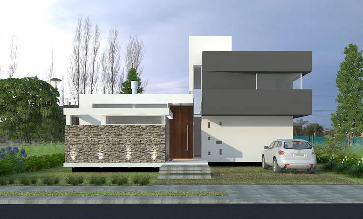 Vivienda LR - La Peregrina - Neuquén Capital: Casas de estilo  por ARKIZA