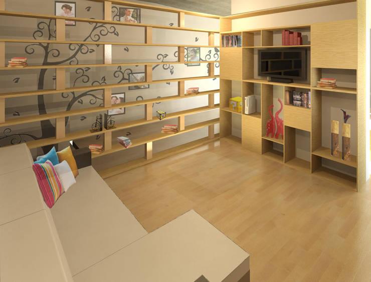 Libreros y repisas dise os modernos - Libreros de madera modernos ...