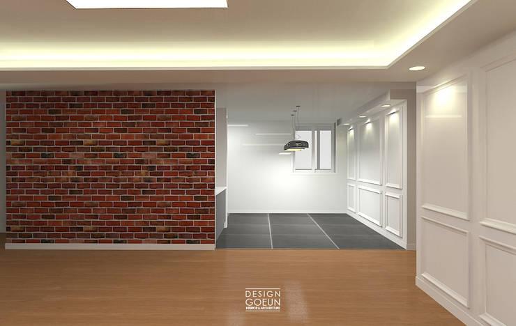 은하마을 49평 리모델링_ Design by Goeun: 디자인고은의  다이닝 룸