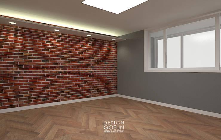 [부천인테리어] 49평 리모델링_ Design by Goeun: 디자인고은의  침실
