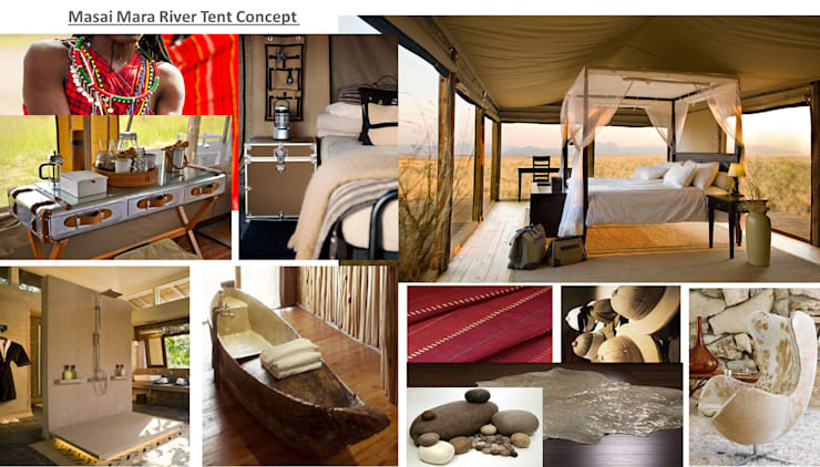 Masai Mara :  Bedroom by House of Gargoyle
