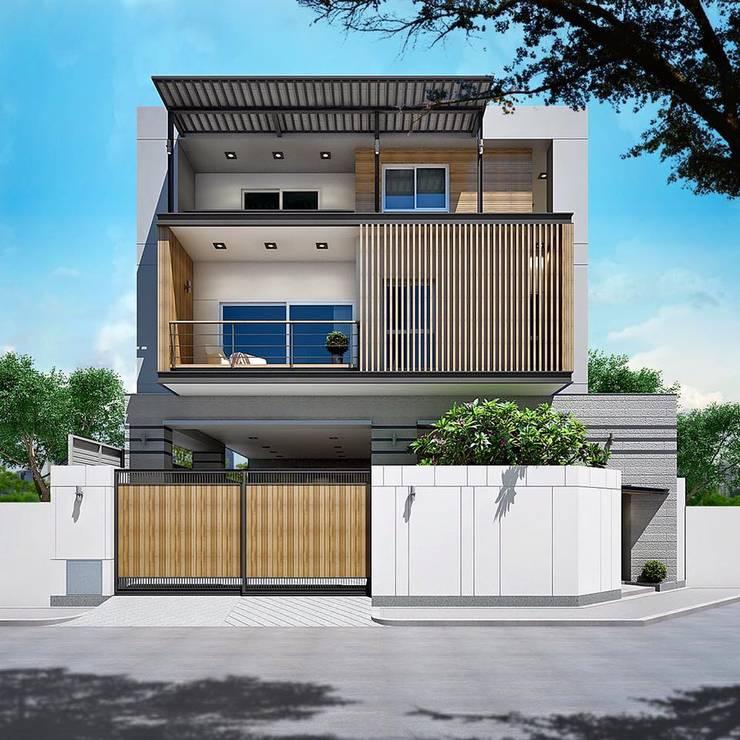 บ้านหลักสี่:   by modernloft home