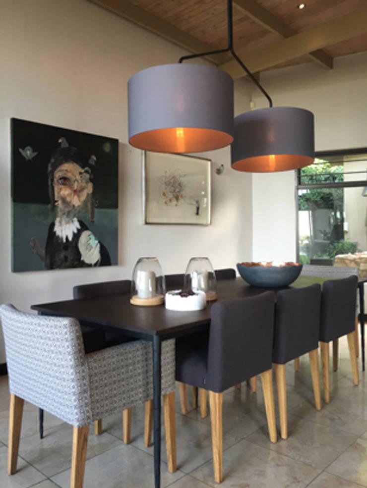 Herbert Baker Residence:  Dining room by Full Circle Design