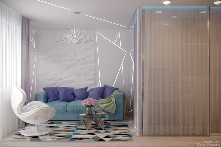 Bedroom by Студия интерьерного дизайна happy.design