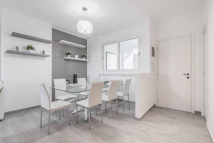 Un appartamento moderno perfetto in soli 85 mq a milano for Ristrutturare appartamento 75 mq