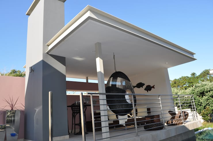 Ballito House KZN:  Houses by Karel Keuler Architects