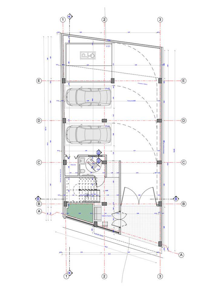 plantas: Casas de estilo  por ConstruKapital