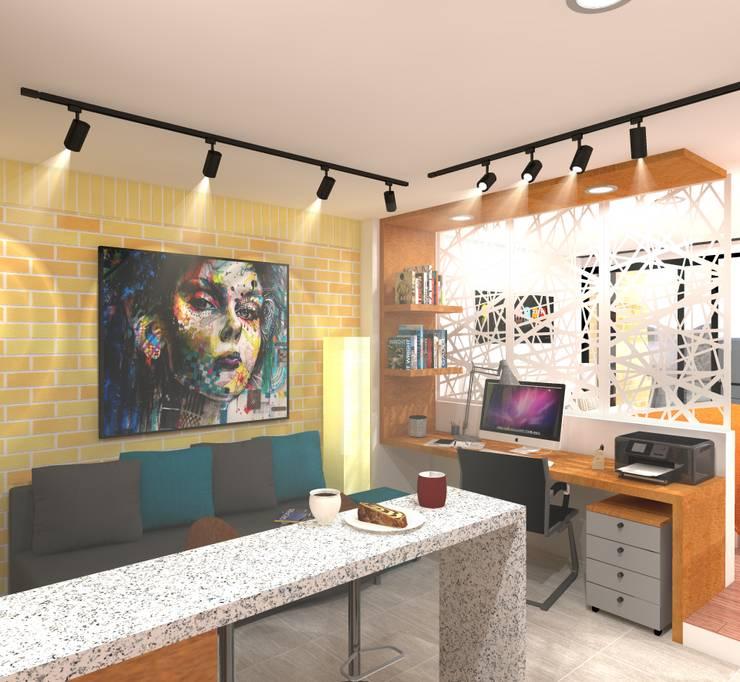 Estudio tipo 1: Casas de estilo  por ConstruKapital
