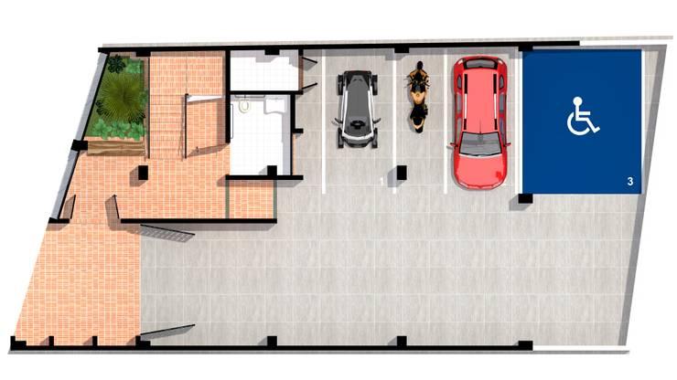 primer piso: Casas de estilo  por ConstruKapital