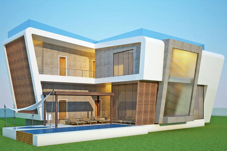 LAME CASA VILLA: modern Houses by Archie-Core